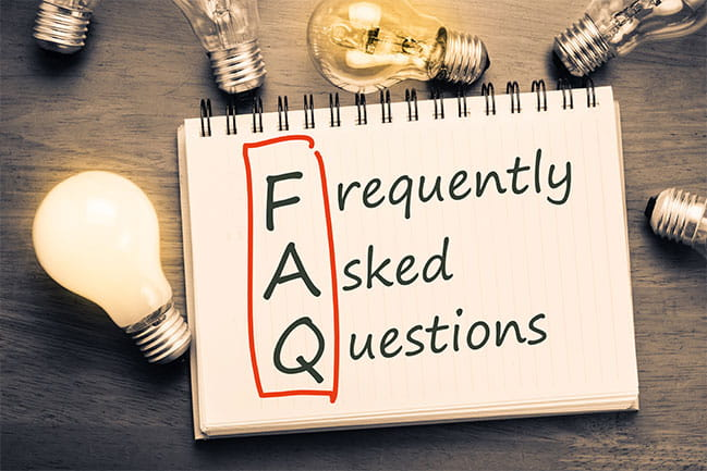 Frequently Asked Questions Image